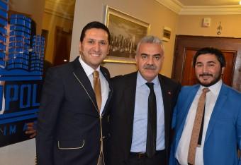 Ankaragücü Kulüp Başkanı Sn: Metin Akyüz Metropol Yapı Denetim A.Ş.'yi Ziyaret Etti
