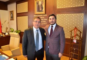 Pursaklar Belediye Başkanı Sn: Selçuk Çetin'e İlgisinden Dolayı Teşekkür Ederiz